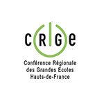 Logo de la CRGE - Conférence Régionale des Grandes Ecoles Hauts de France partenaire adrinord