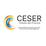 logo du Conseil économique, social environemental régional HDF