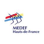 Logo MEDEF partenaire adrinord