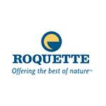 Logo de la société ROQUETTE -leader mondial des ingrédients d'origine végétale et un pionnier des nouvelles protéines partenaire adrinord